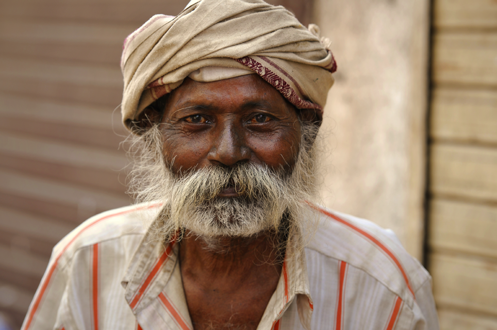 Man in India from Marol and Gamdevi in Mumbai