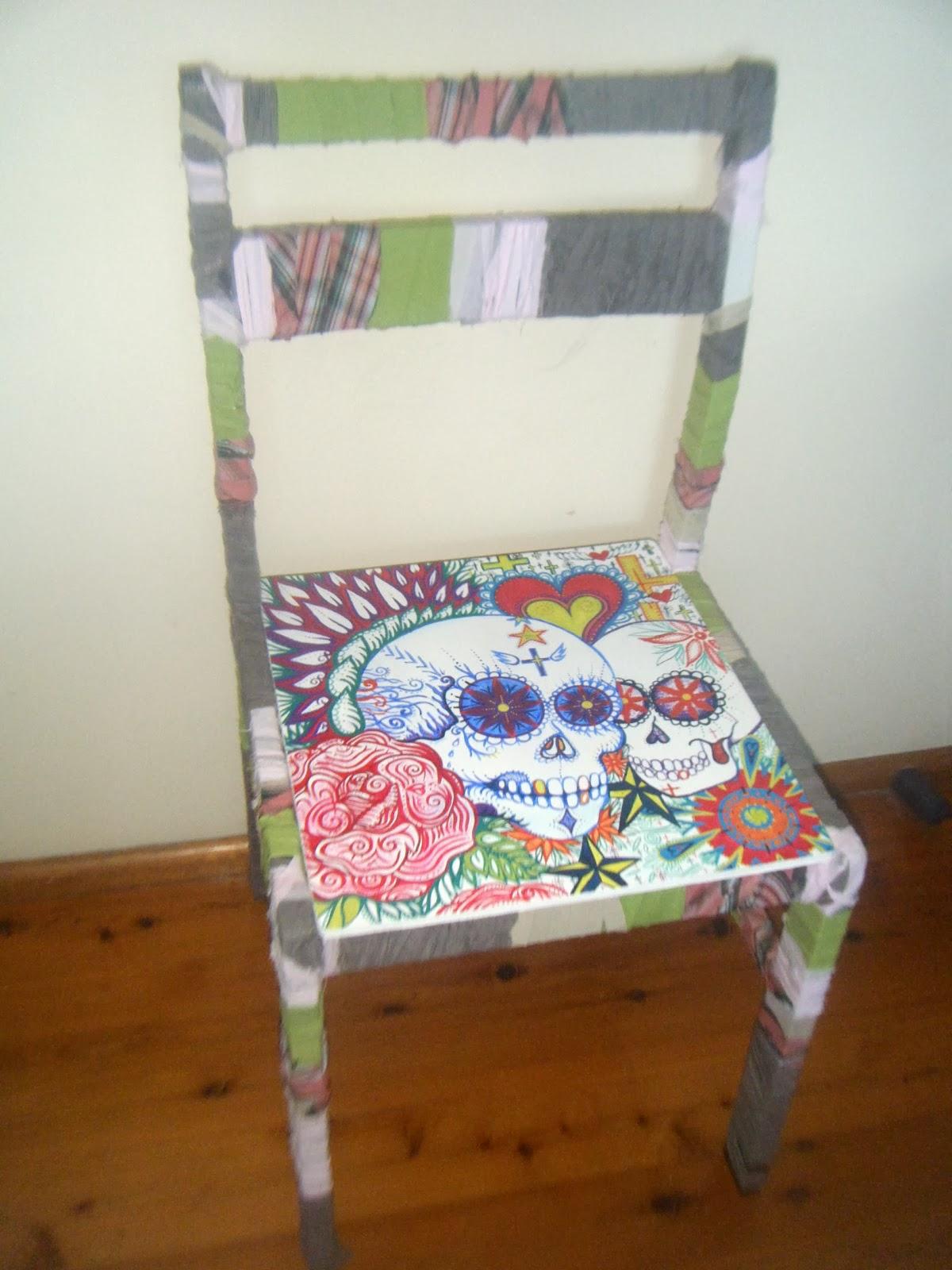 Mexican Sugar Skull Furniture