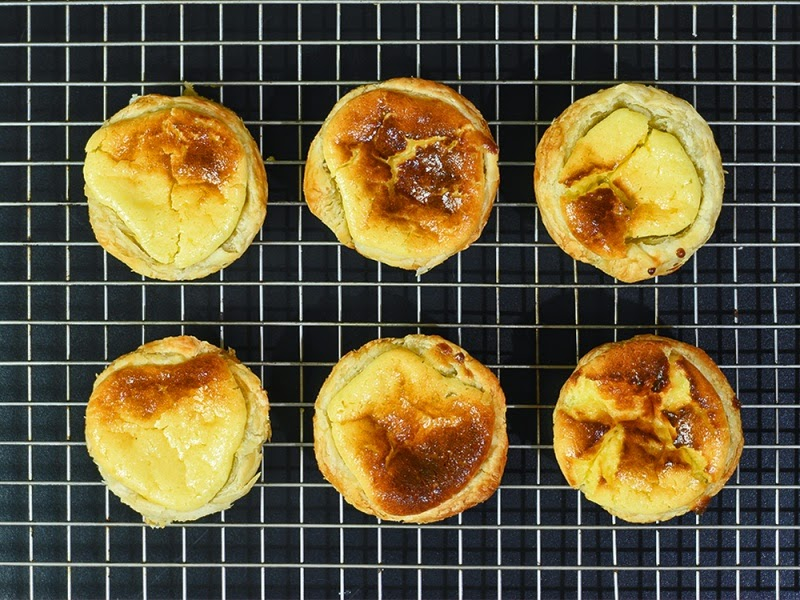 receita fácil de pastel de Belém