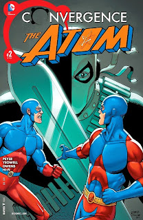 Cover of Convergence: The Atom #2 from DC Comics