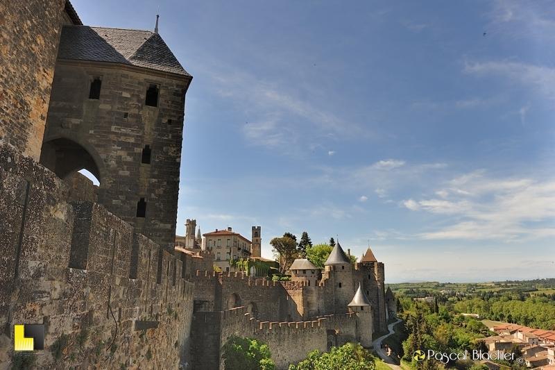 La porte de L'Aude Carcassonne photographie pascal blachier