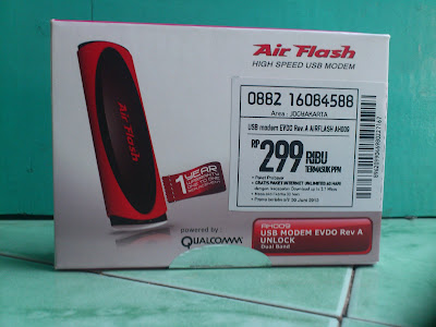 Review Air Flash AH009 Smartfren EVDO Rev A Unlock Dualband