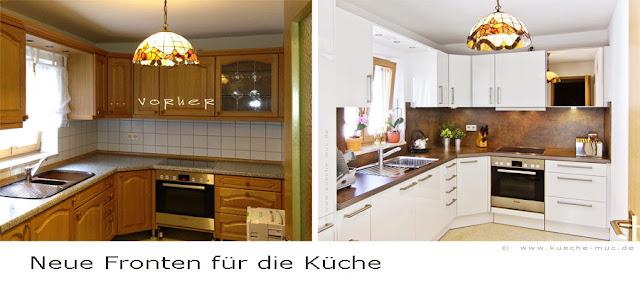 Wenn Sie bei Ihrer Küche die Türen wechseln können Sie ihr gleich einen völlig neuen Charakter geben