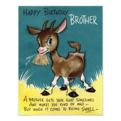 EGreeting ECards Greeting Cards and Happy Wishes Happy Birthday – Goat Birthday Card