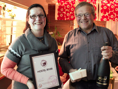 Hostel River in Pori is the Hostel of the Year 2013 in Finland