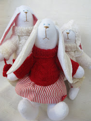 Семья кроликов.
