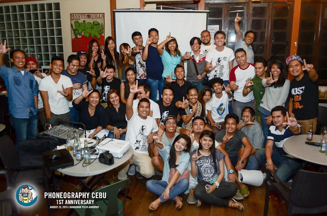 PHONEography Cebu 1st Anniversary