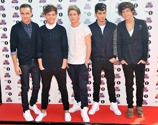 One Direction at the BBC Teen Awards