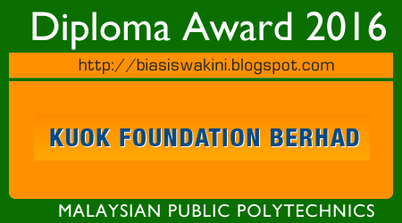 KUOK FOUNDATION DIPLOMA AWARDS 2016