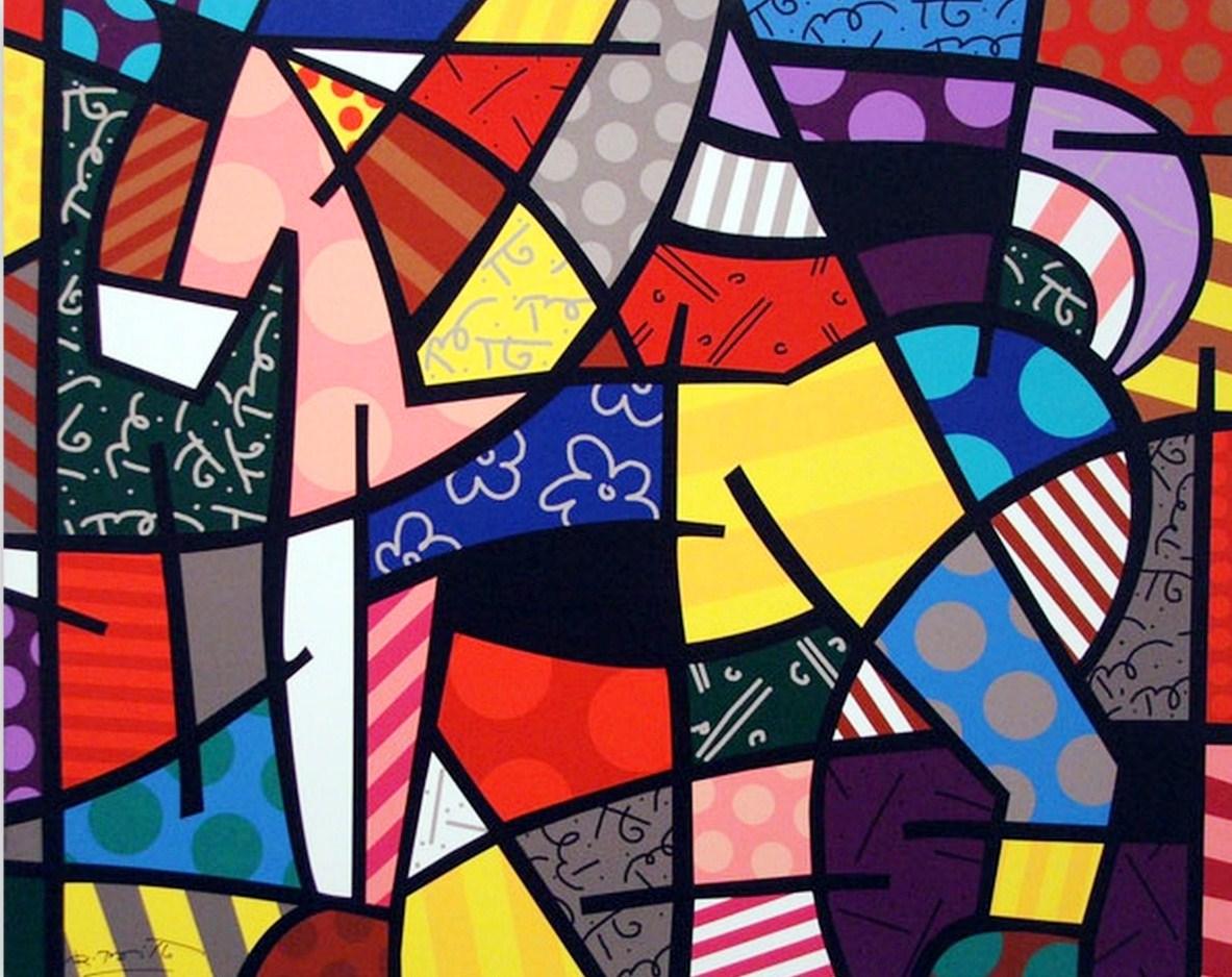 cuadros modernos de romero brito pintura contemporánea decorativa al ...