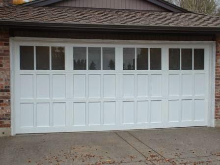 Aluminum garage door repair Portland