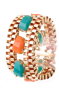 Coral & turquoise Bracelet