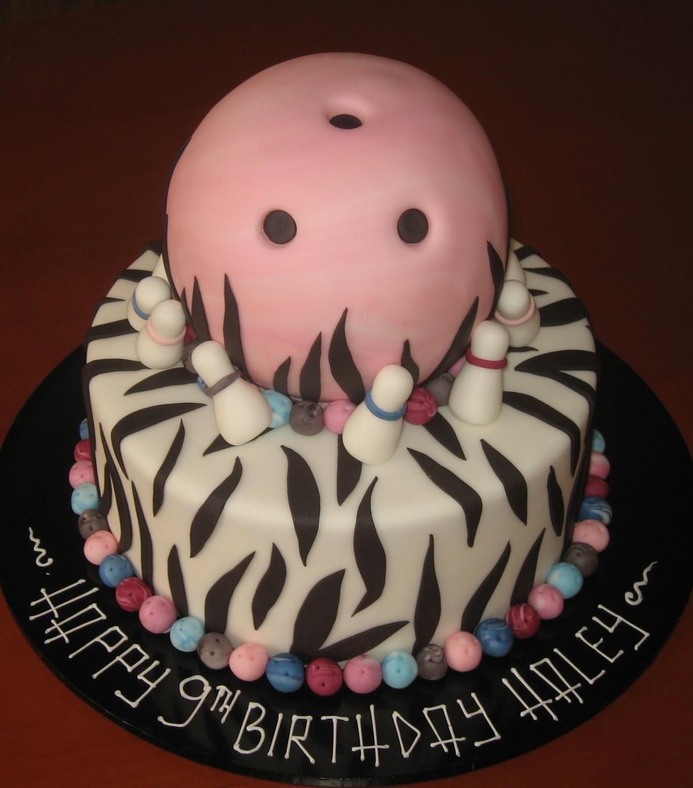 Let Them Eat Cake Girls Bowling Ball