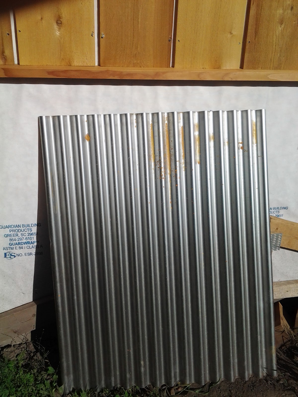 How To Rust Galvanized Corrugated Metal Rug Designs