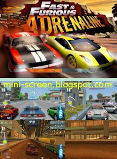 Game: Fast and Furious Adrenalin HD Game for Android Interface