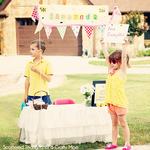 lemonade stand and free printables