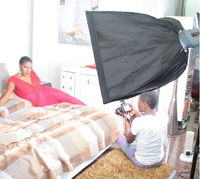 Chika Ike's Photoshoot For Ovation Magazine