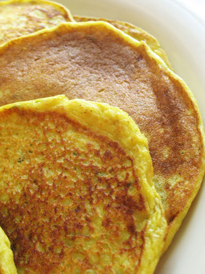 how to make 2 small pancakes