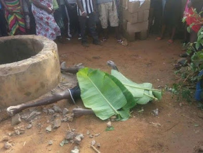 Man Who Allegedly Killed His Son For Money Ritual Allegedly Found Dead In A Well