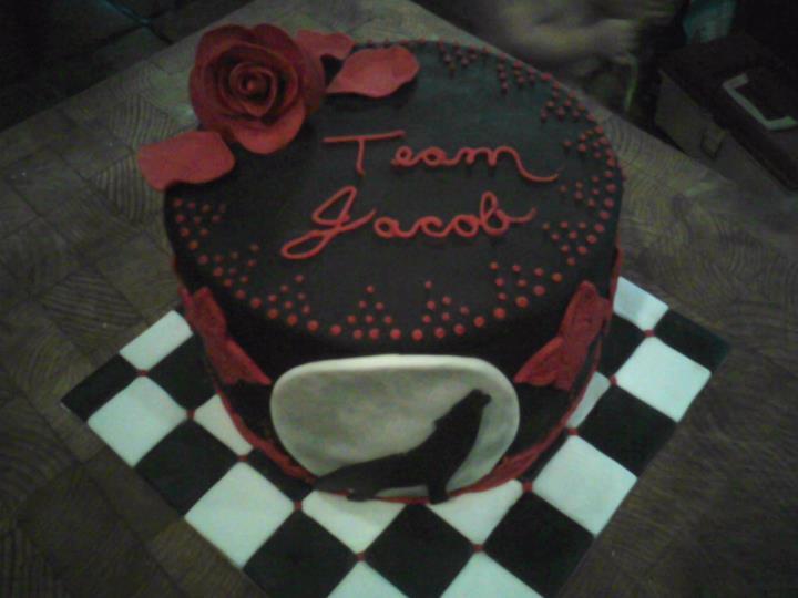 Cake Fixes Everything Twilight Birthday Cake