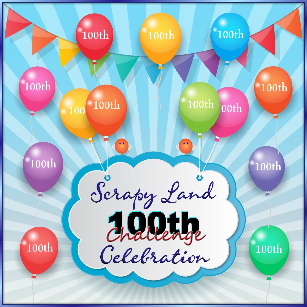 Scrapy Land 100th Challenge Celebrations