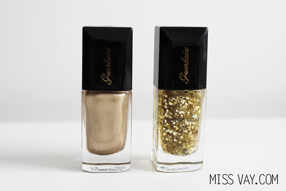 La Laque Couleur Coque d'Or Top Coat Or Guerlain Collection des Fêtes 2014