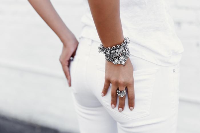 DYLANLEX bracelet & rings