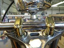Brass risers