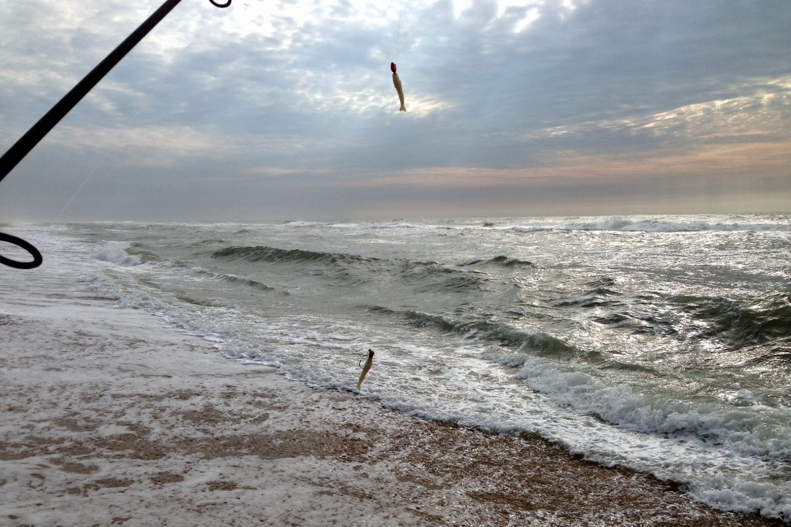 March 15 surf strikeout on the ides of march for Beaufort nc fishing report