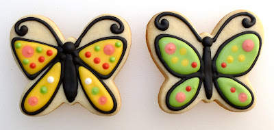 Butterfly Cookies by The Ginger Cookie