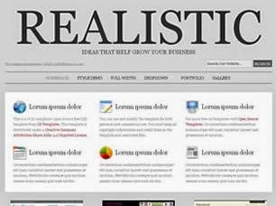 Css Templates - Realistic | Download Gratuito