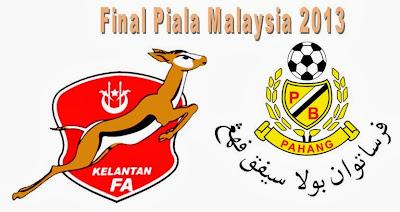 Piala Malaysia 2013: Pahang Juara, Kelantan Kecundang - Terbakor