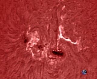 mancha solar 1302 27 de septiembre 2011