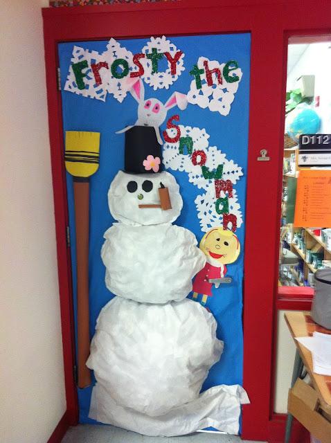 preschool christmas door contest | just b.CAUSE