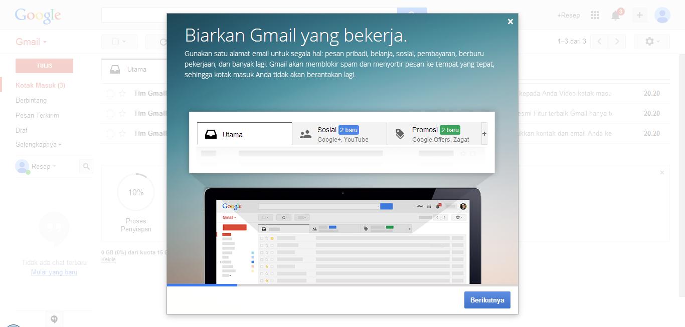 Akun Gmail Indonesia
