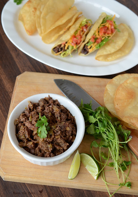 carnita taco recipe, steak taco meat recipe, crockpot beef recipes,