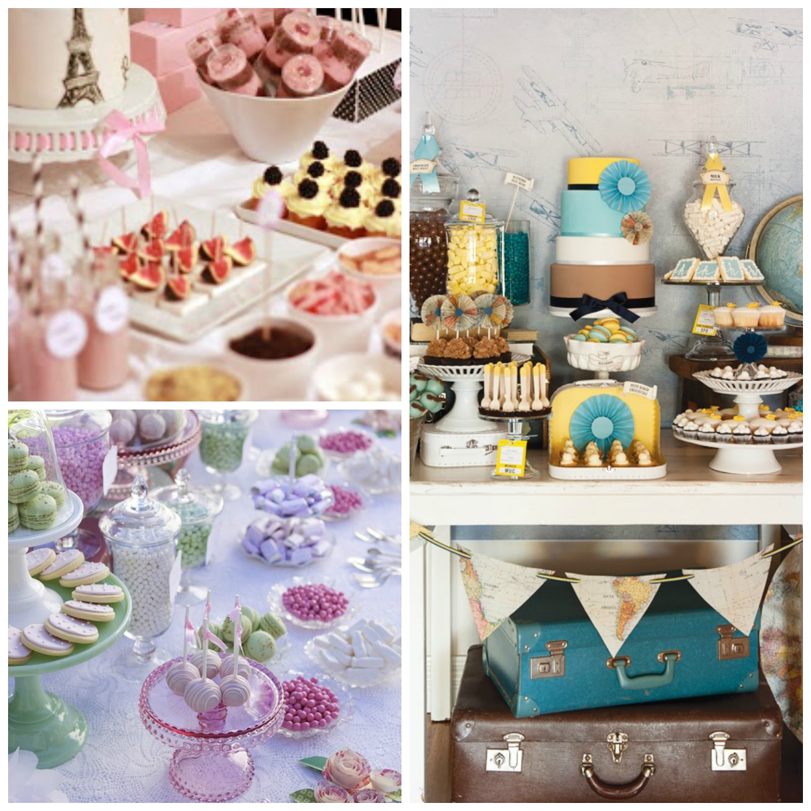 Mcompany style candy bar y mesas dulces for Ideas para mesas dulces
