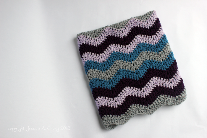 Free Baby Chevron Crochet Pattern : Sunny Stitching: Free Crochet Pattern for a Chevron Baby ...