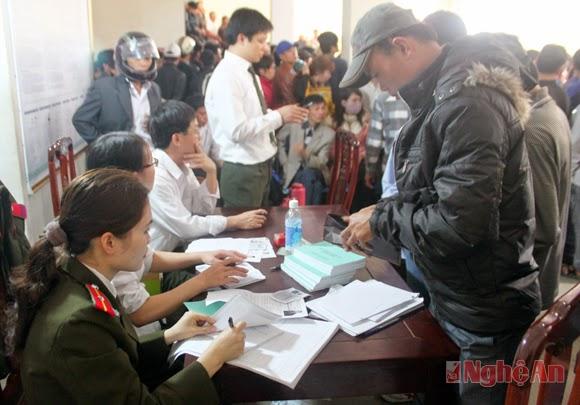 Công khai doanh nghiệp xuất khẩu lao động tại Nghệ An
