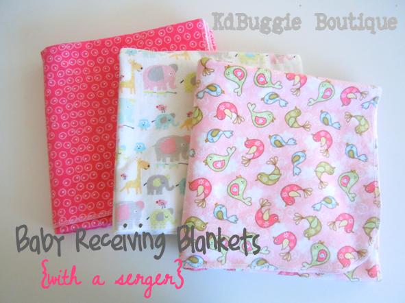 Creative mama nesting series 1 tutorial flannel receiving blankets