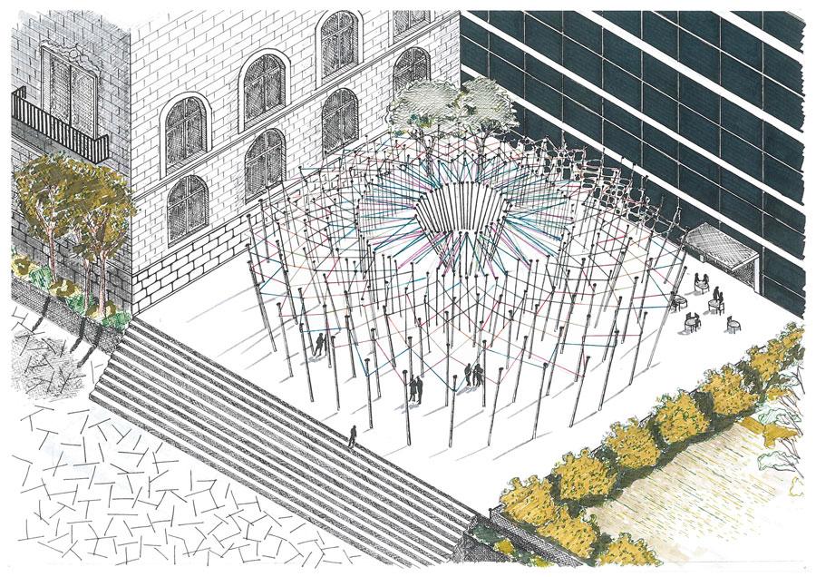Martamv: dibujo  2º interiores: perspectivas, diseño de espacios y ...