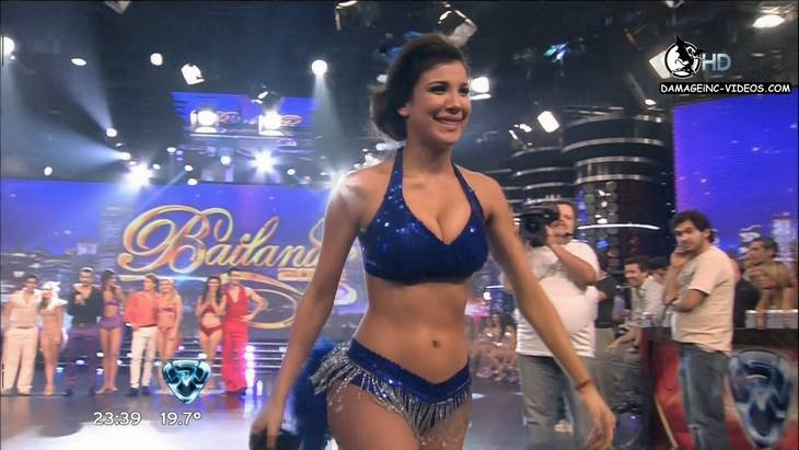 Argentina Showgirl Andrea Rincon Big Breasts Dancing