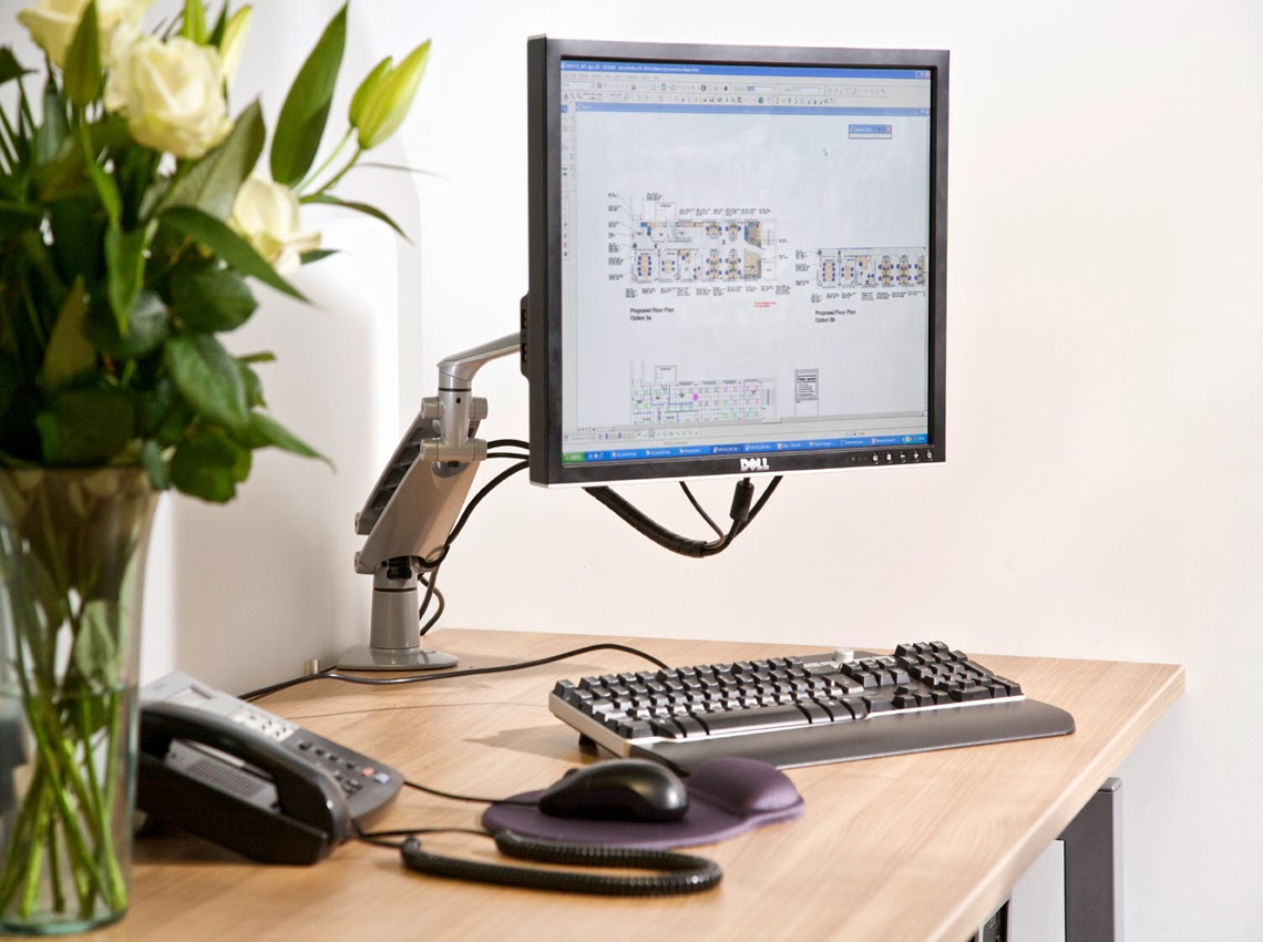 Ergonomic Monitor Arm