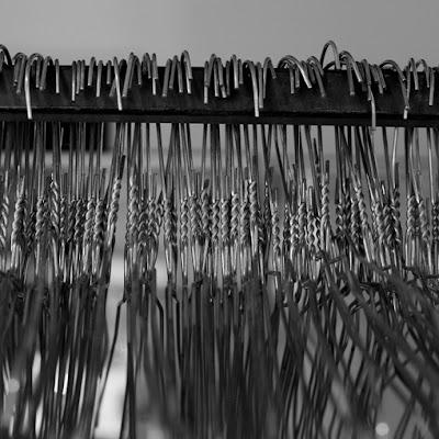 cloakroom, clothes hanger, vestiaire, cintres, photo © dominique houcmant