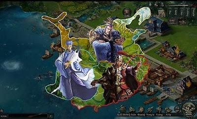 """Hệ thống Quốc chiến của game chiến thuật Ngọa Long có thể nói là một trong những """"nam châm """" mạnh mẽ giữ người chơi"""