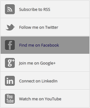 Add a Social Media Subscription Widget to Blogger