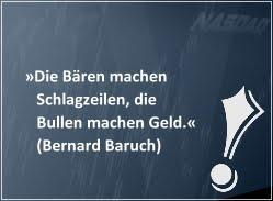 Investiere wie Bernard Baruch