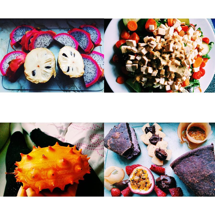 drachenfrucht raw food clean eating