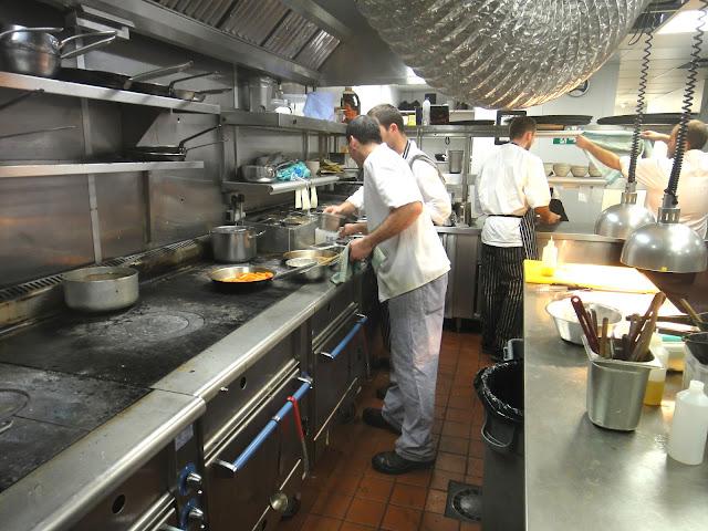 Steakhouse London Goodman - Kitchen, Chefs