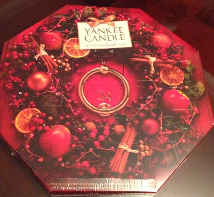 Andy 39 S Yankees Yankee Candle Advent Calendar Christmas 2013